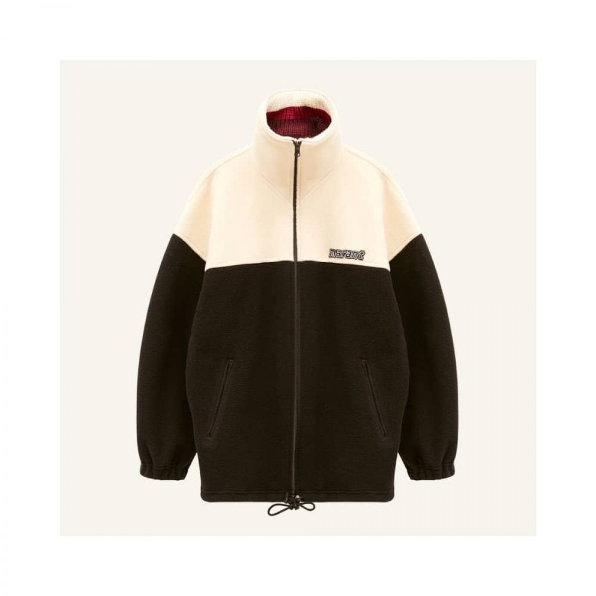 malti coat - black