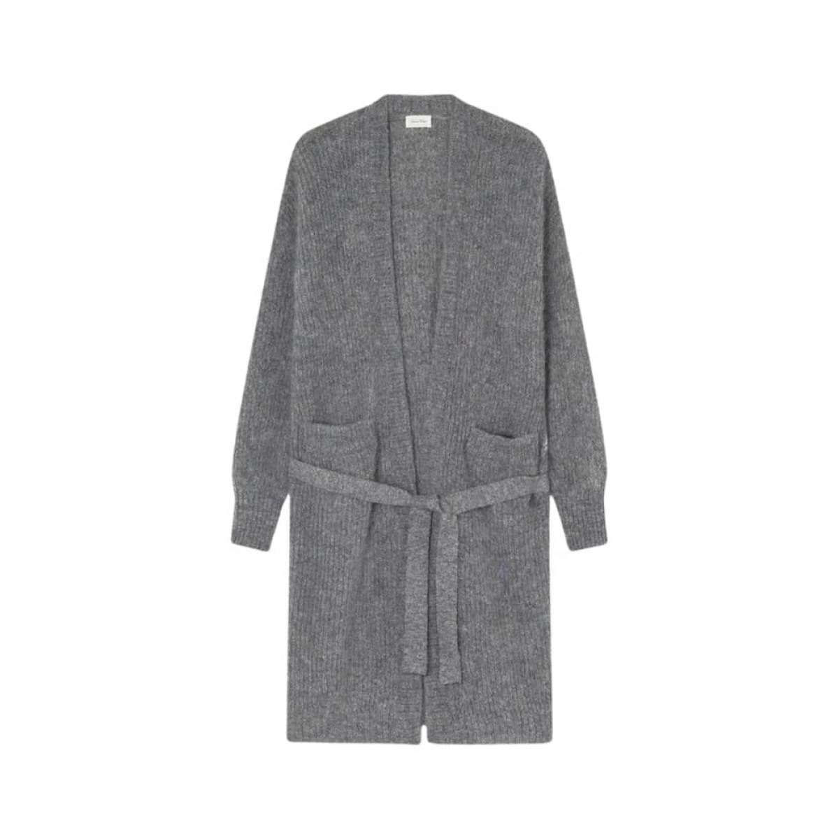 rozy cardigan - heather grey