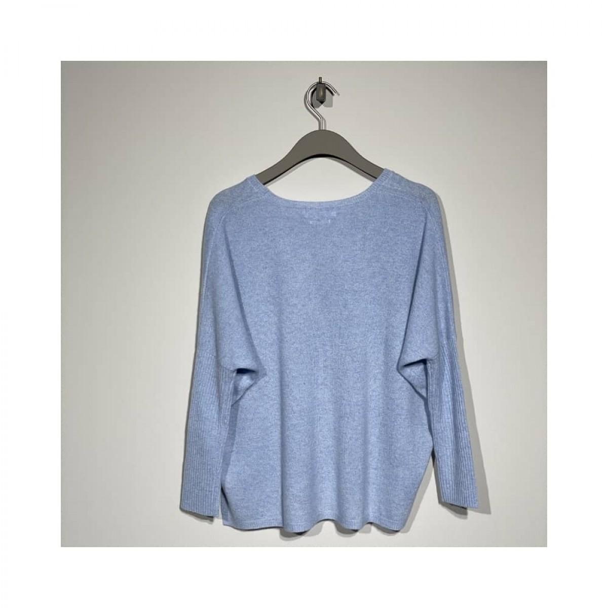 agnes strik - light blue melange - bag