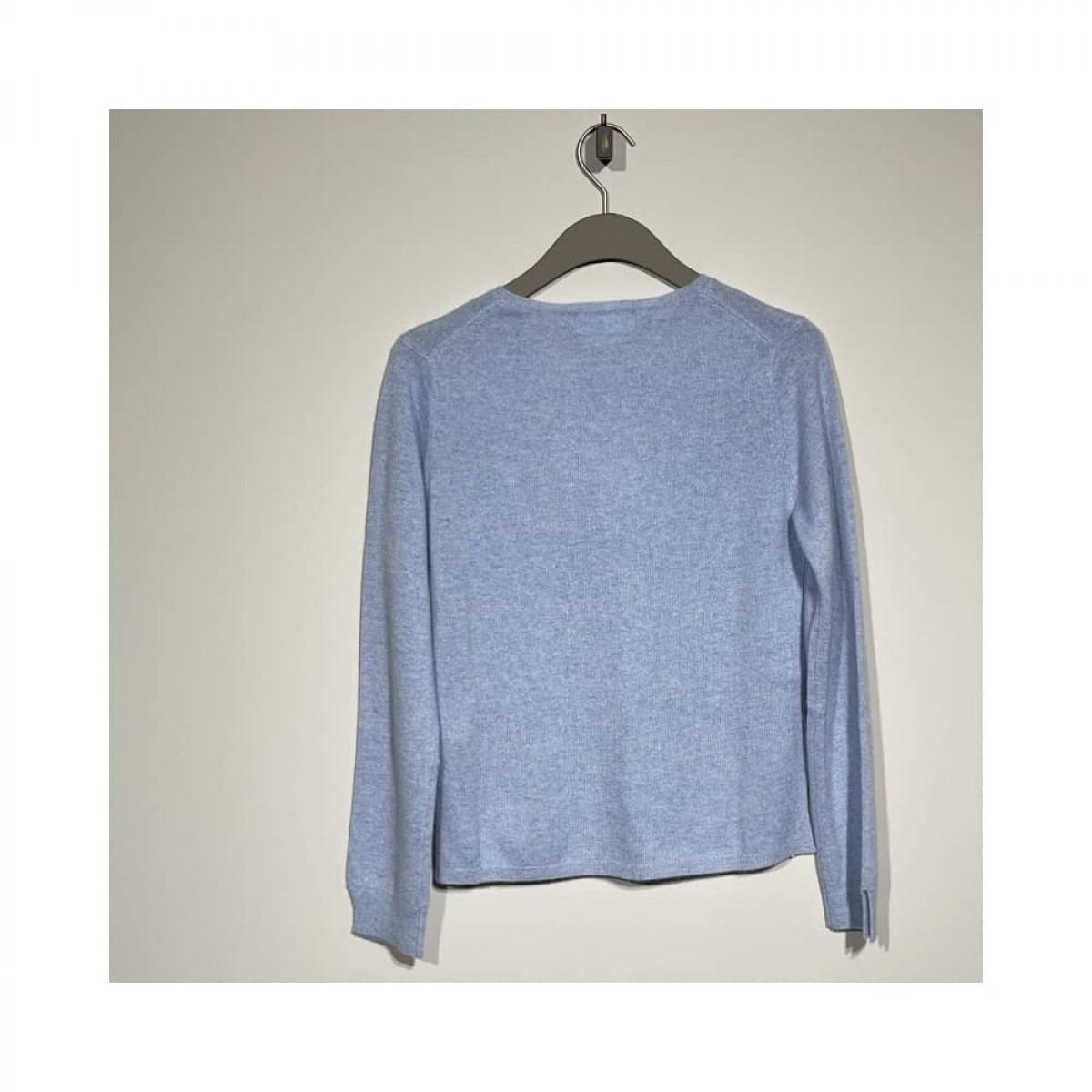 becka strik - light blue melange - bag