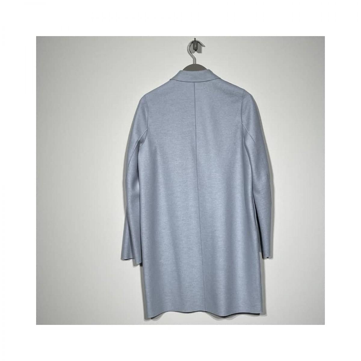 coccon coat - light blue - bag