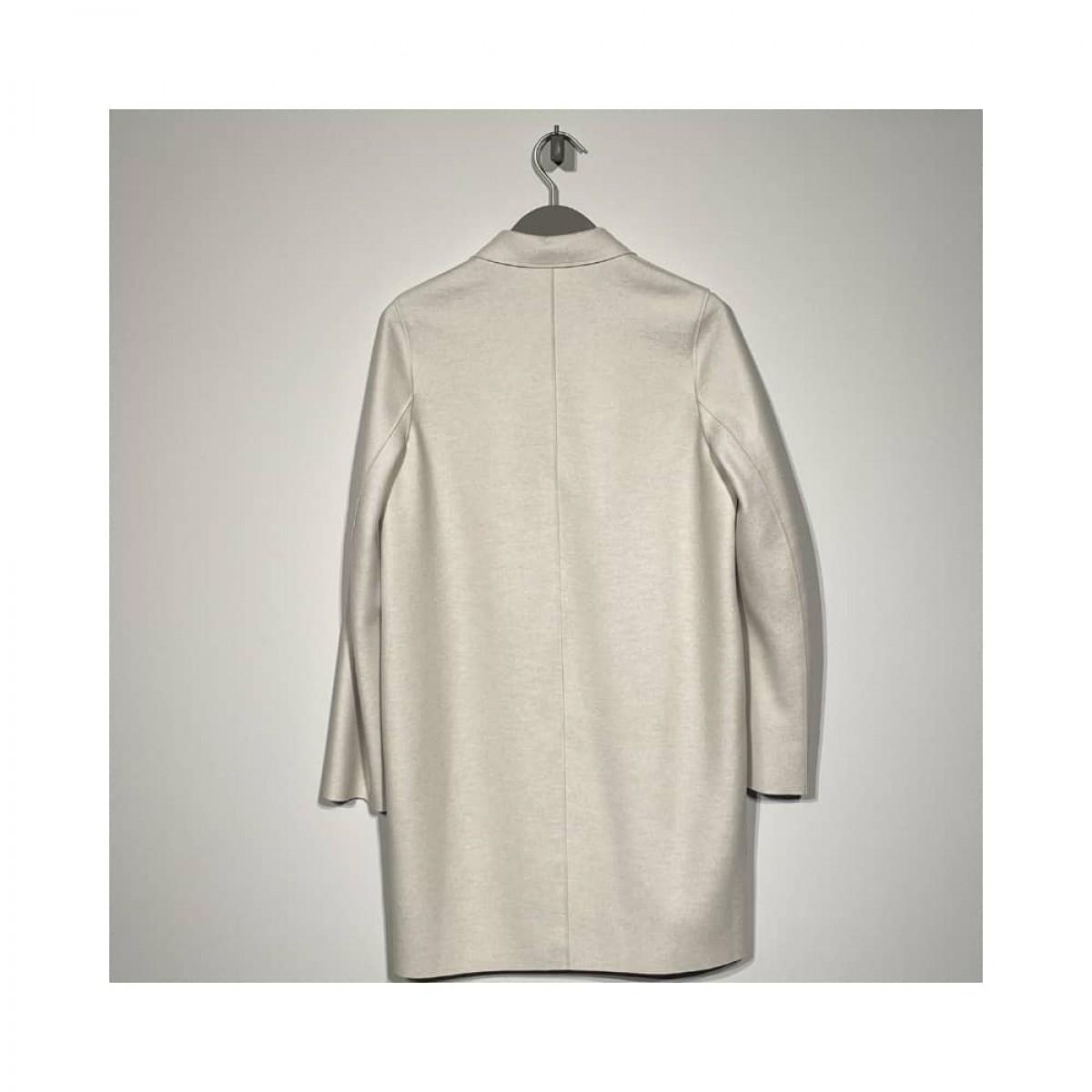 coccon coat - cream - bag