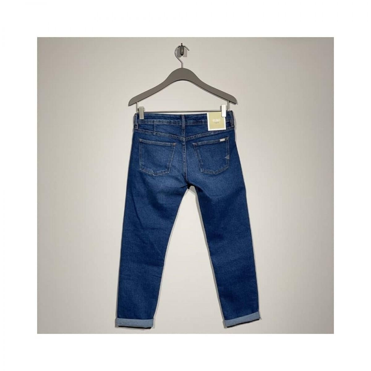 nina boyfriend jeans - blue - bag
