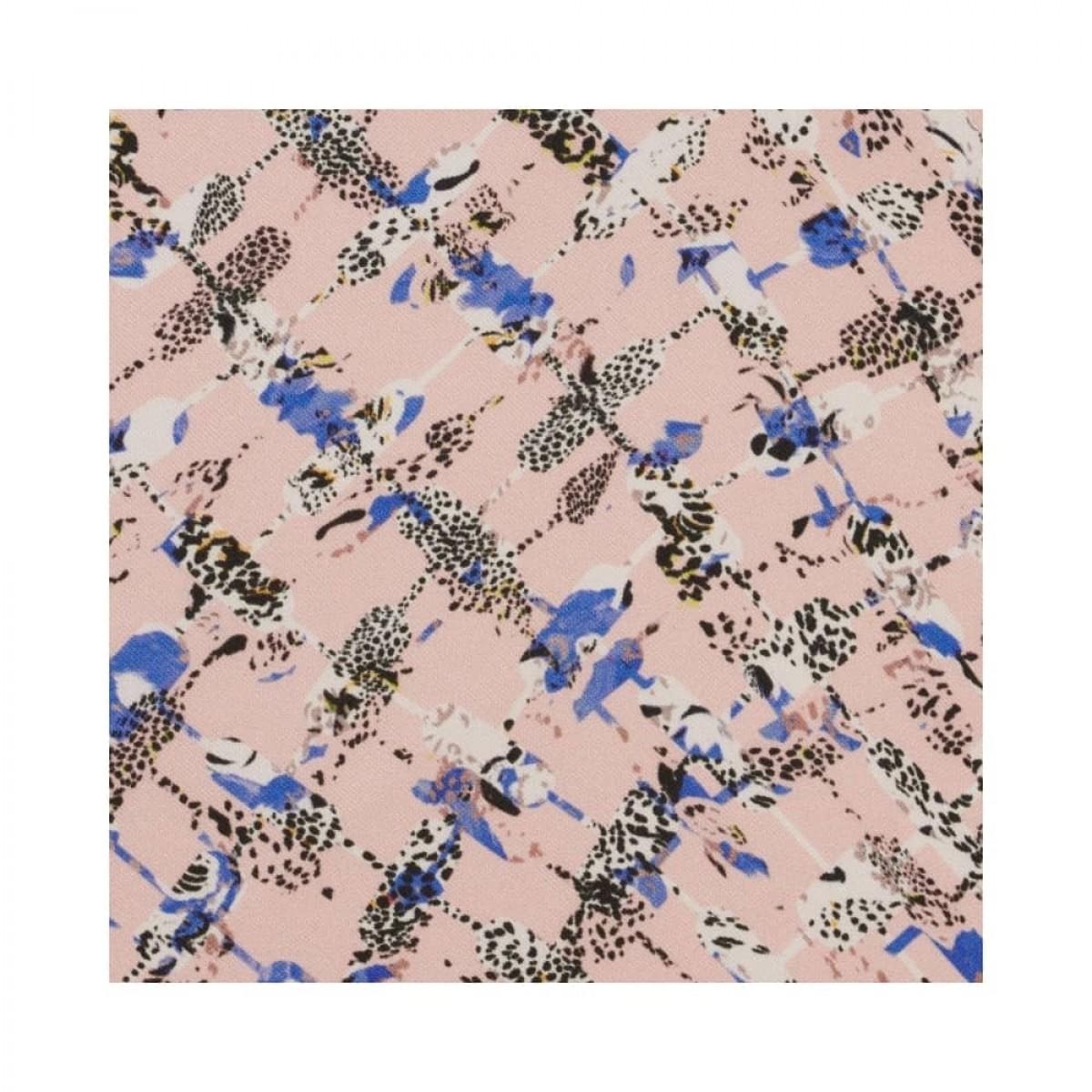 cube cheetah xs tørklæde - cheetah kufiya blush - print