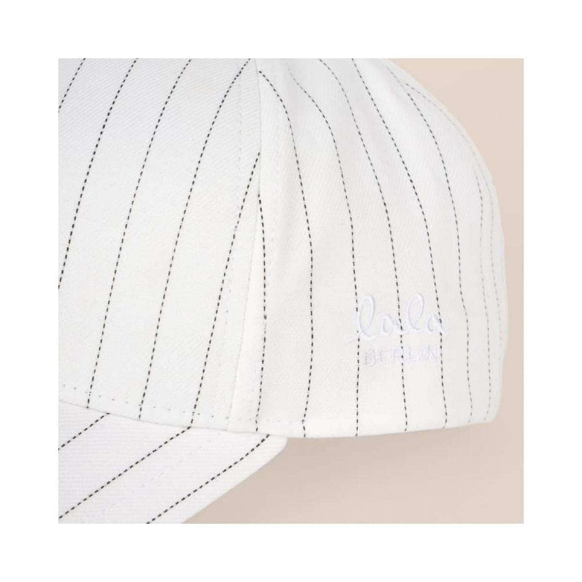 cap sunny - summer stripe heart - logo fra siden