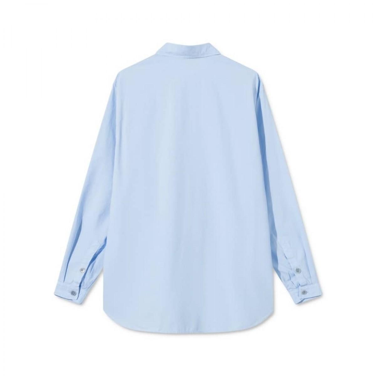 shiloh skjorte - light blue - ryg