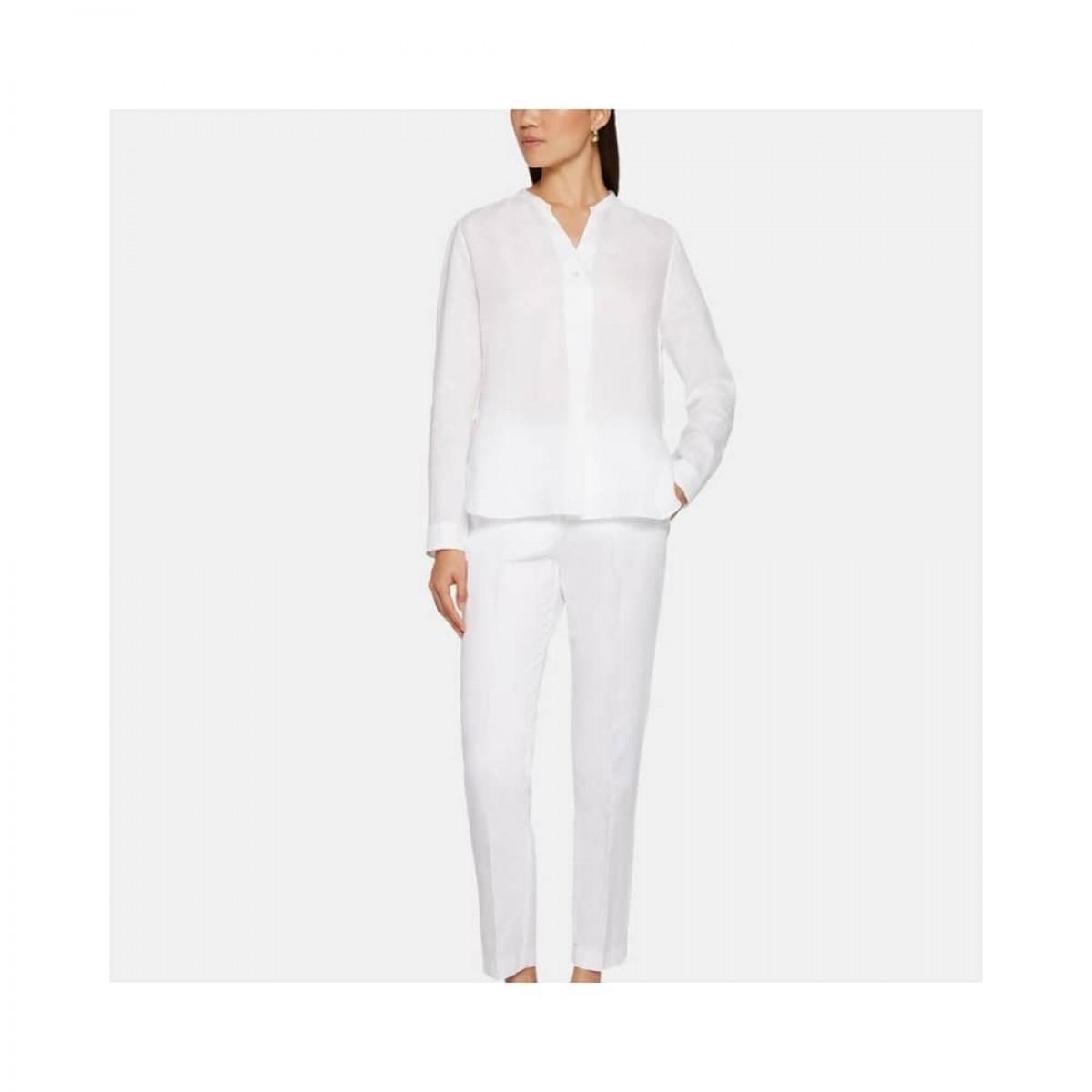 camicia donna skjorte - white - model front