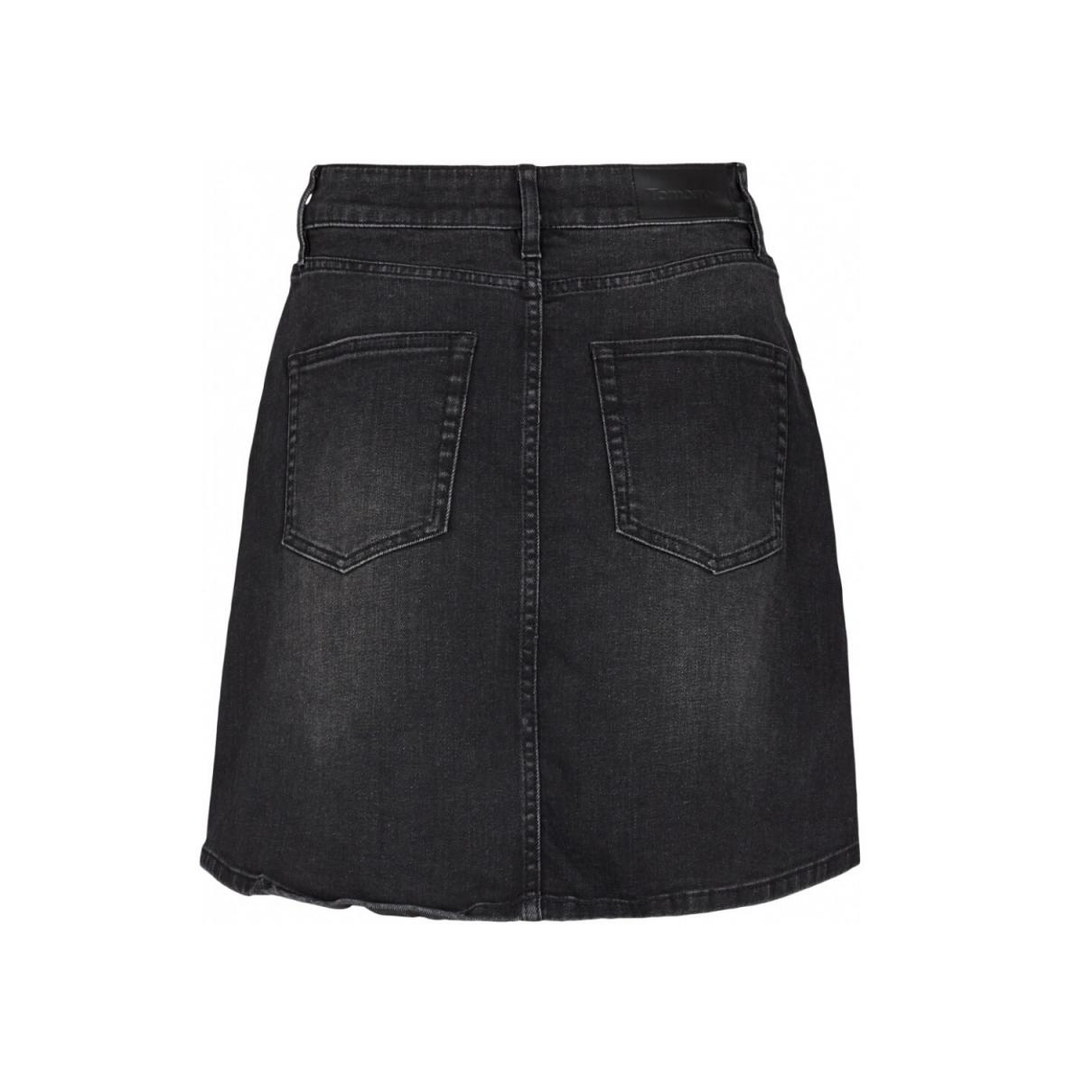 mandela denim skirt original - black - bag