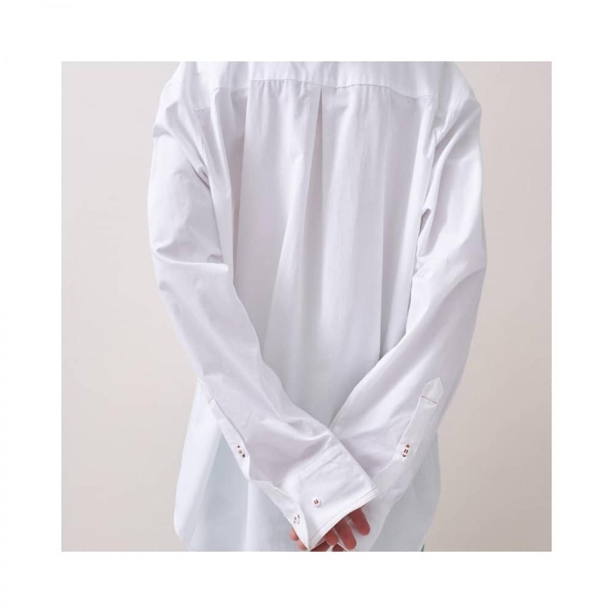 kiara skjorte - white - model ryg