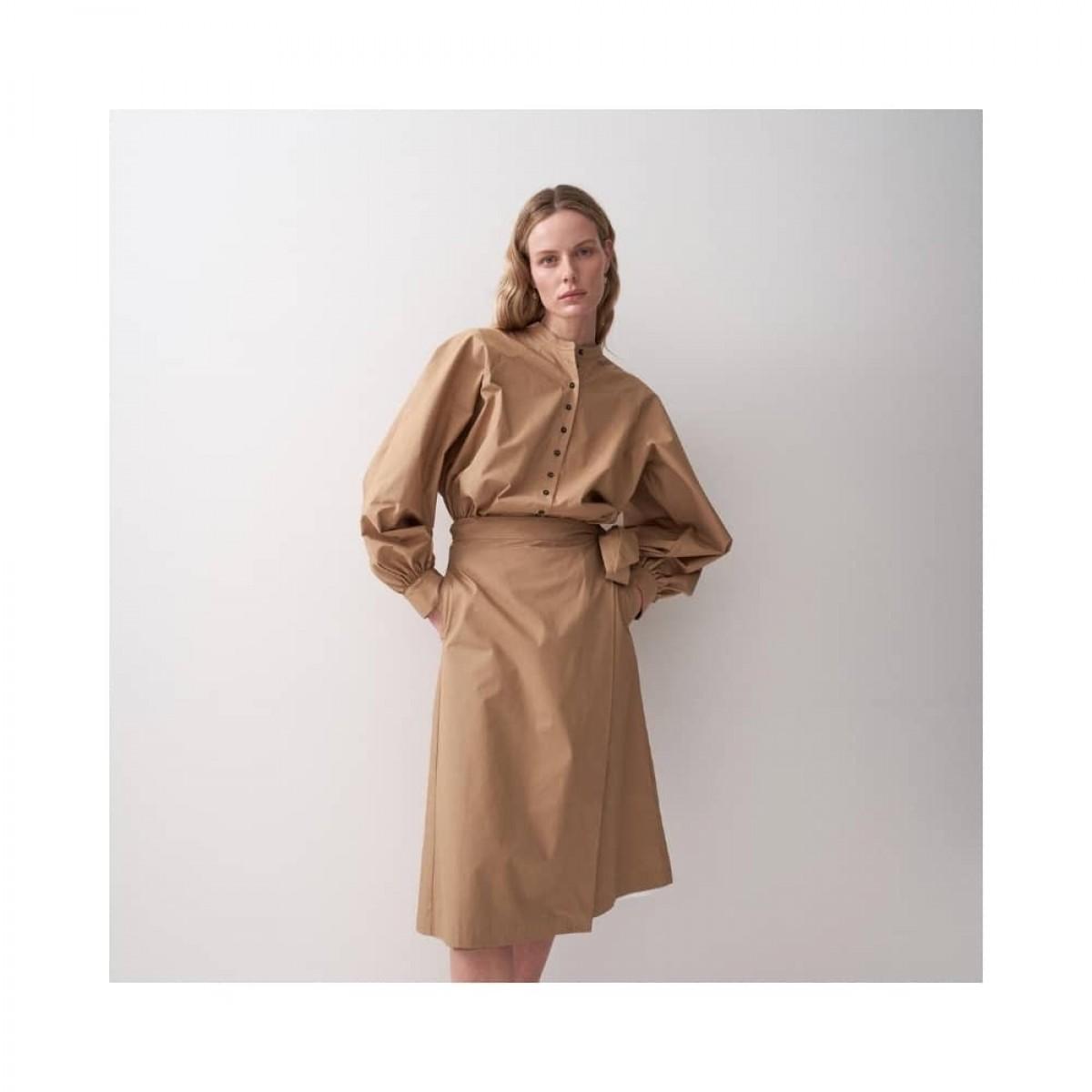 joan skjorte - khaki - model look