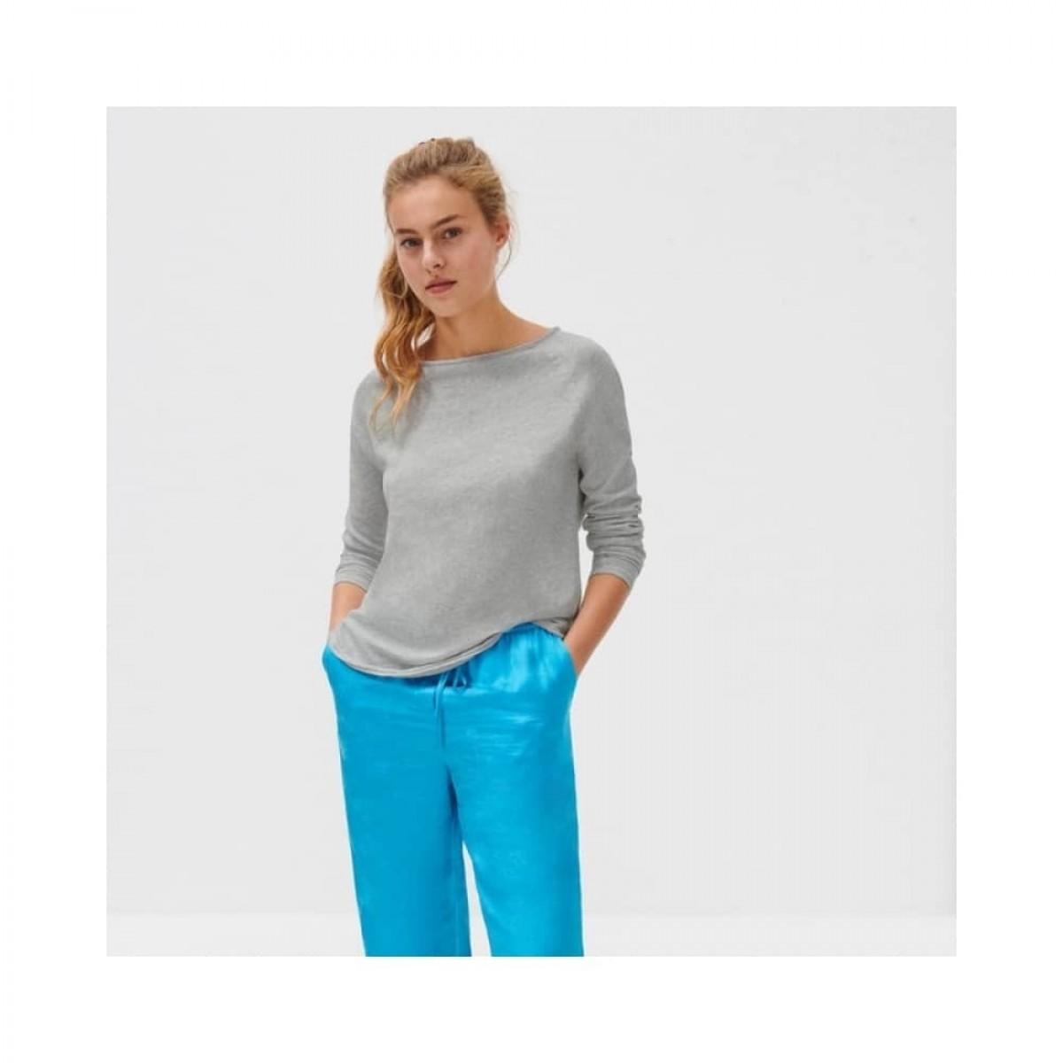sonoma bluse - heather grey - model front