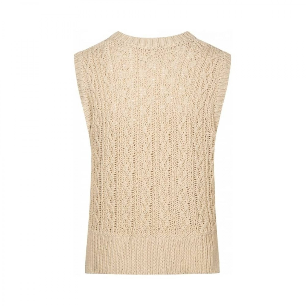 othilia vest - off white - ryggen