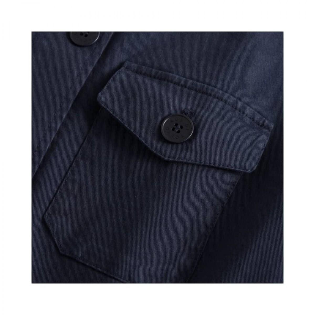 cady workwear jakke - navy - lomme detalje