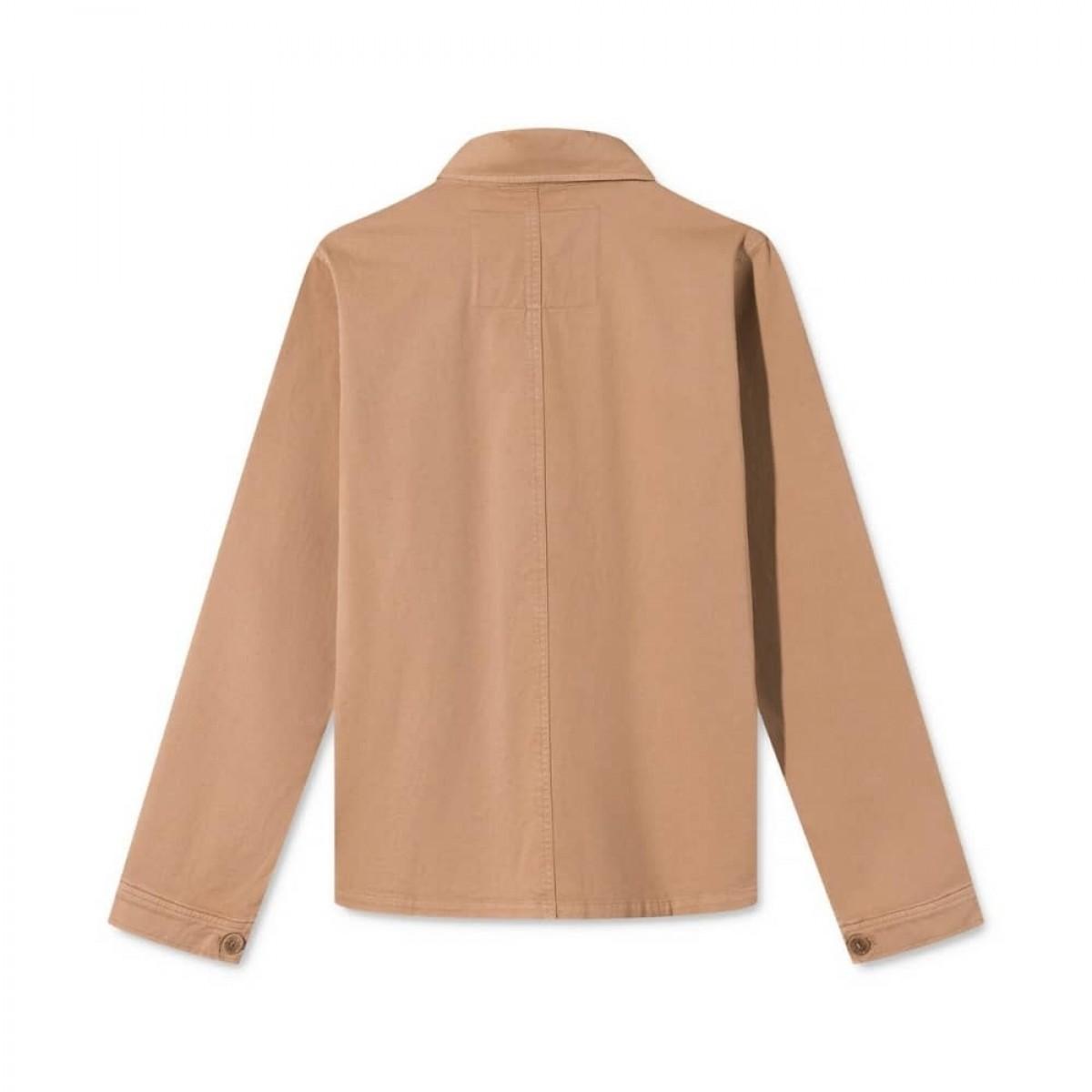 cady workwear jakke - light brown - ryggen