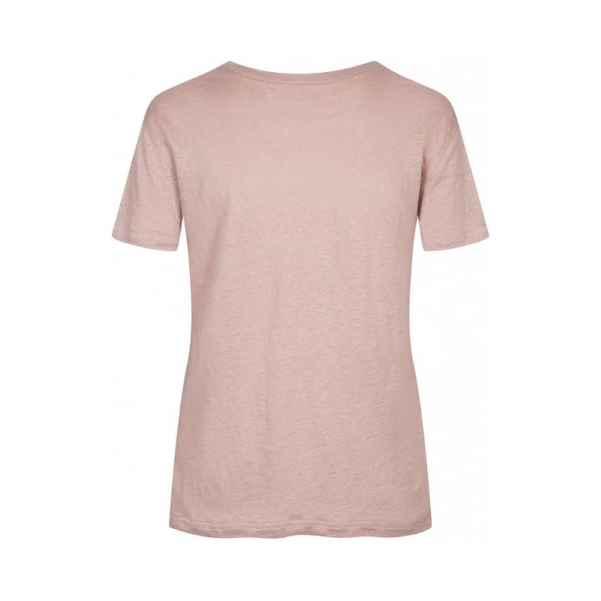 sif v-hals t-shirt - lavender - ryggen