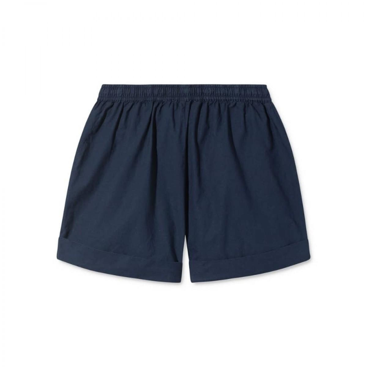 peony shorts - dark navy - bag