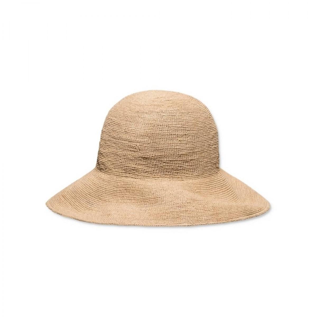 abigail strå-hat - front