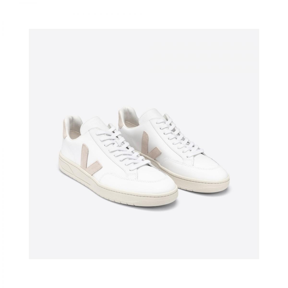 v-12 leather - white sable