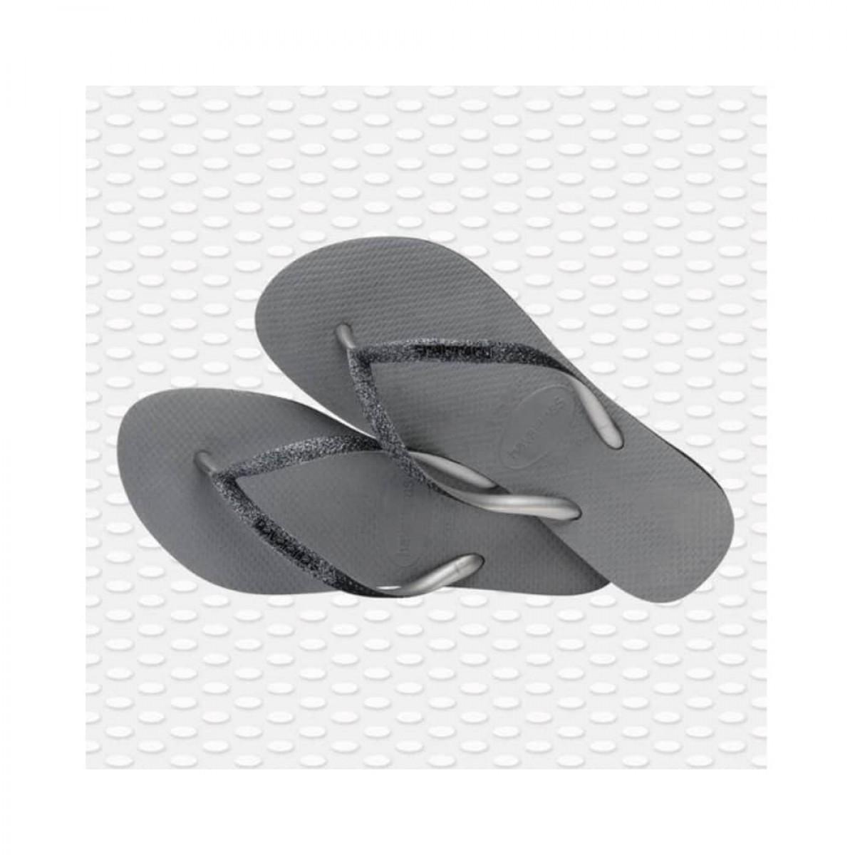 slim sparkle glitter - steel grey - par fra siden