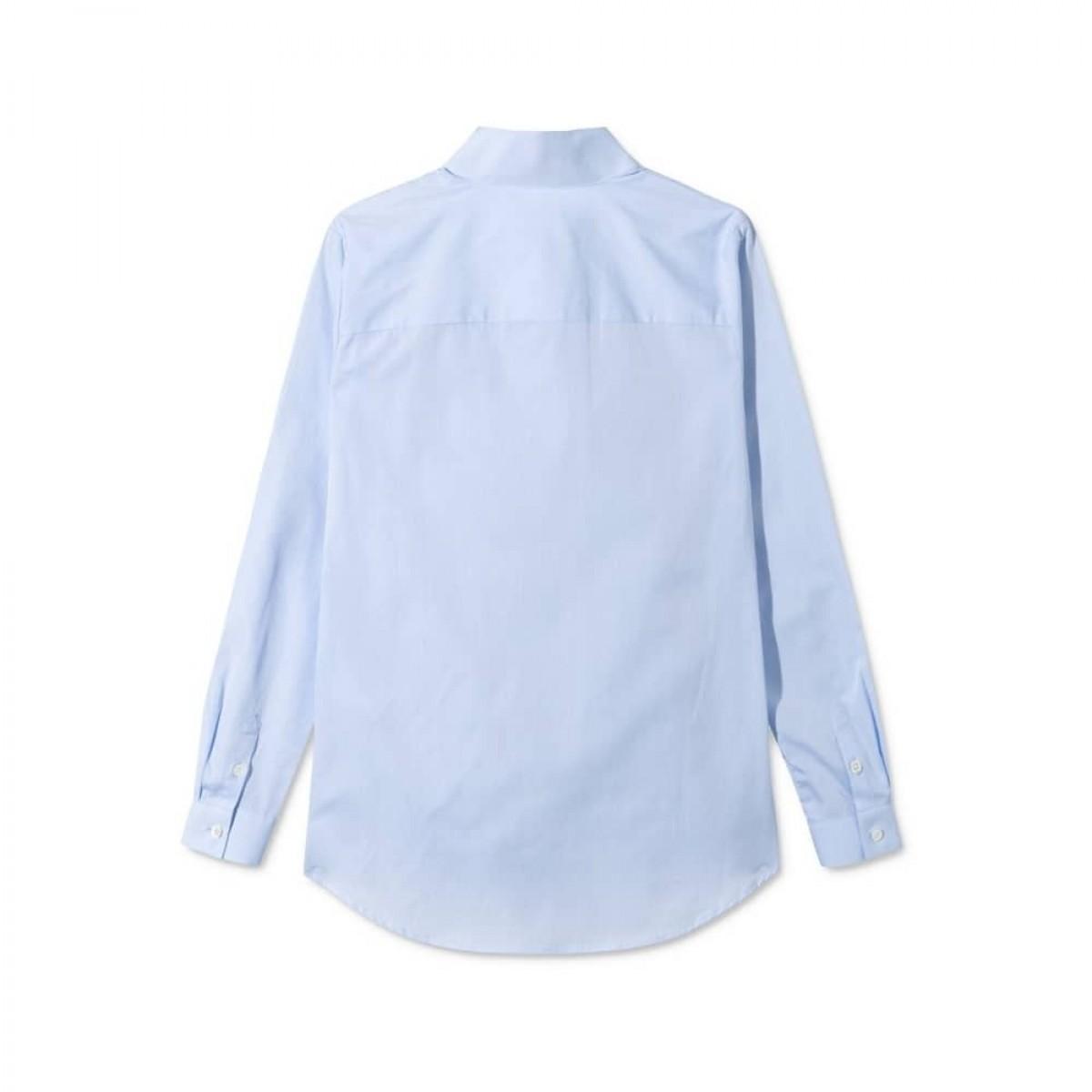 sera skjorte - light blue - ryggen
