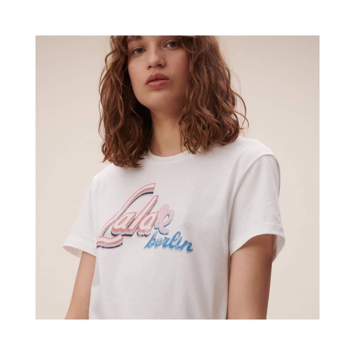 cara t-shirt - white