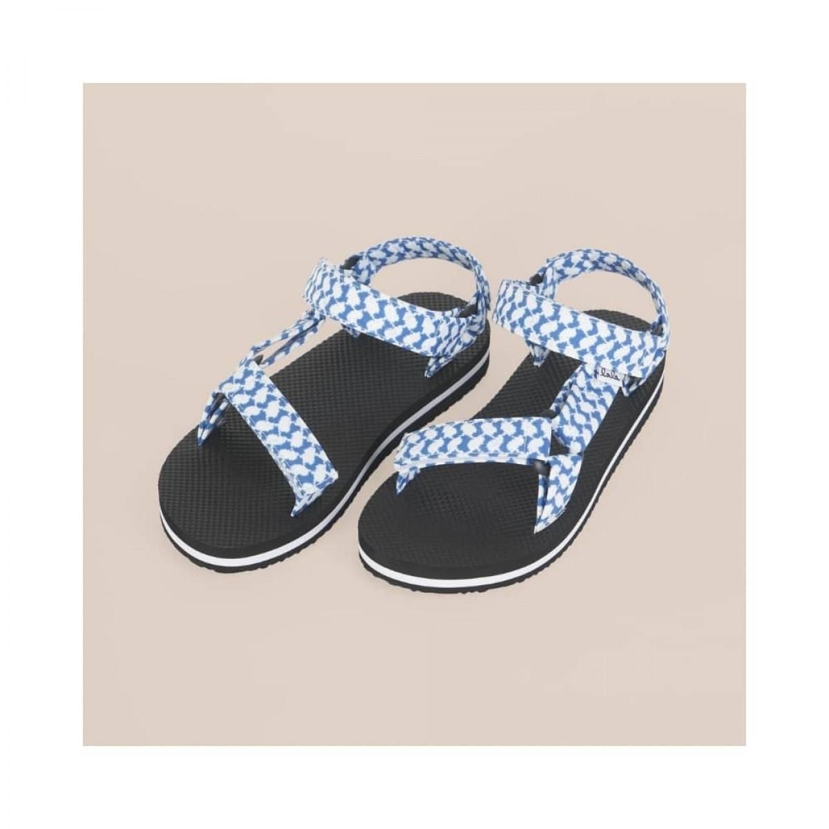 sandals alanis - blue - front