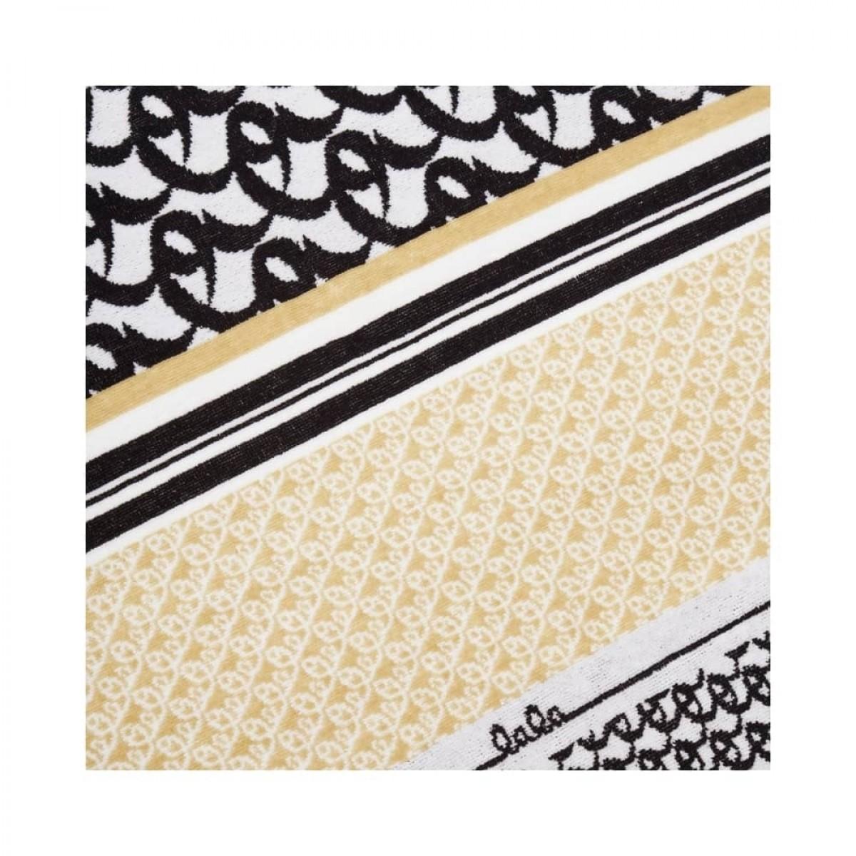 beach towel tissy - beige - print detalje