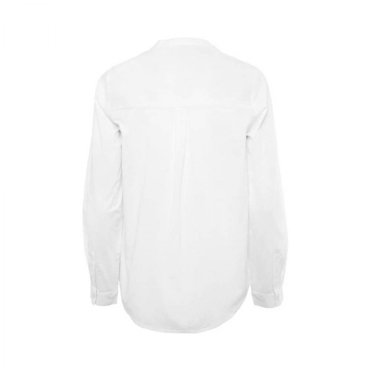 woodie skjorte - white - ryggen