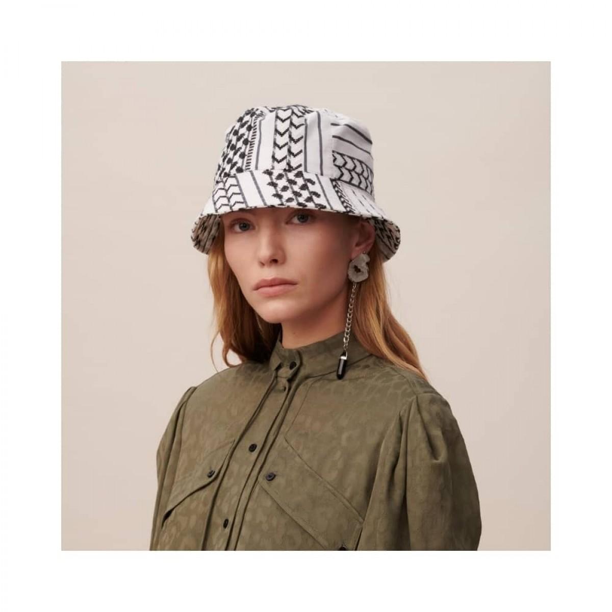 alena hat - white