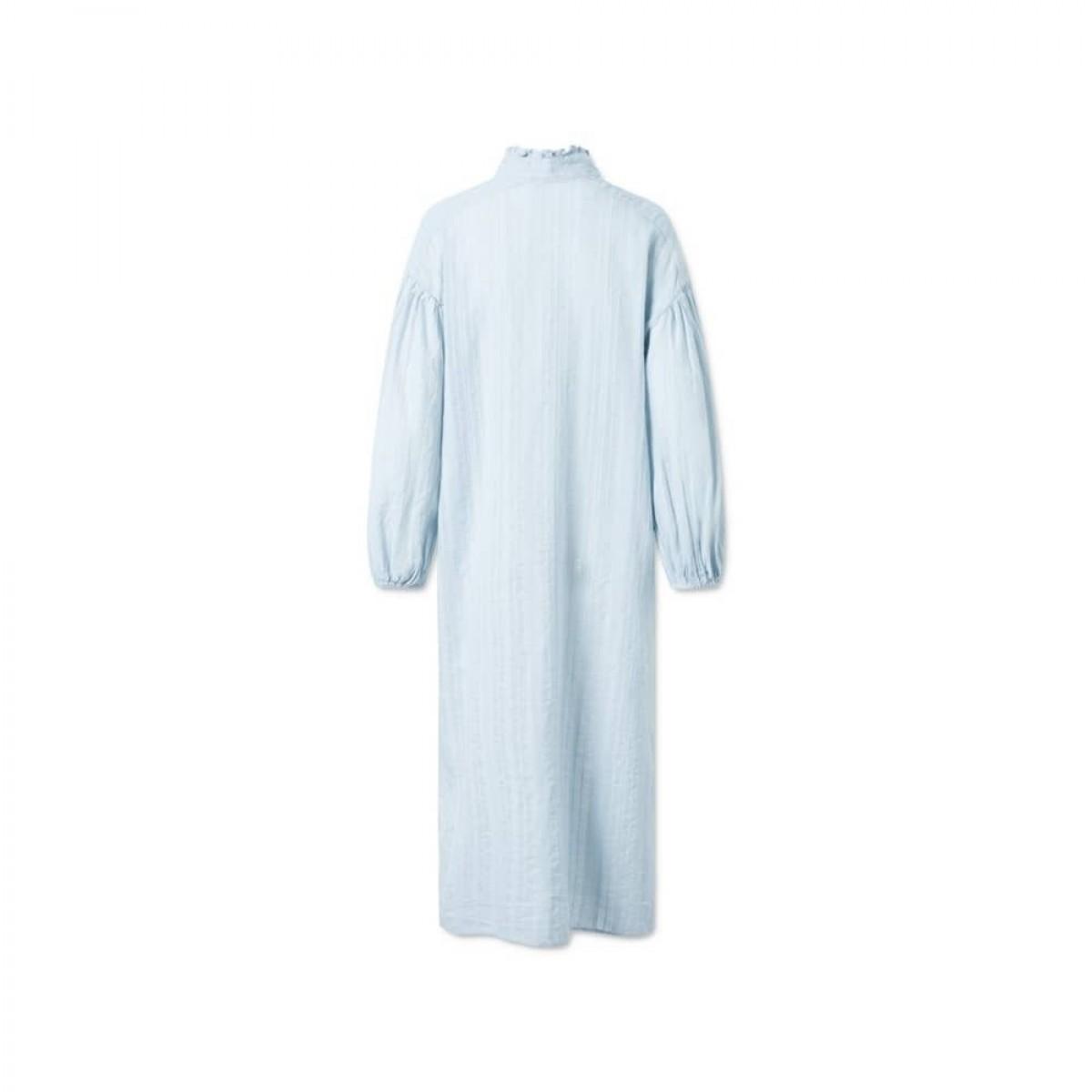 jordana dress - artic ice - ryggen