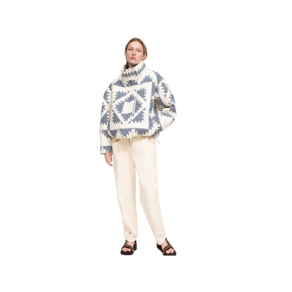 gloucester puffer jacket - multi - model front