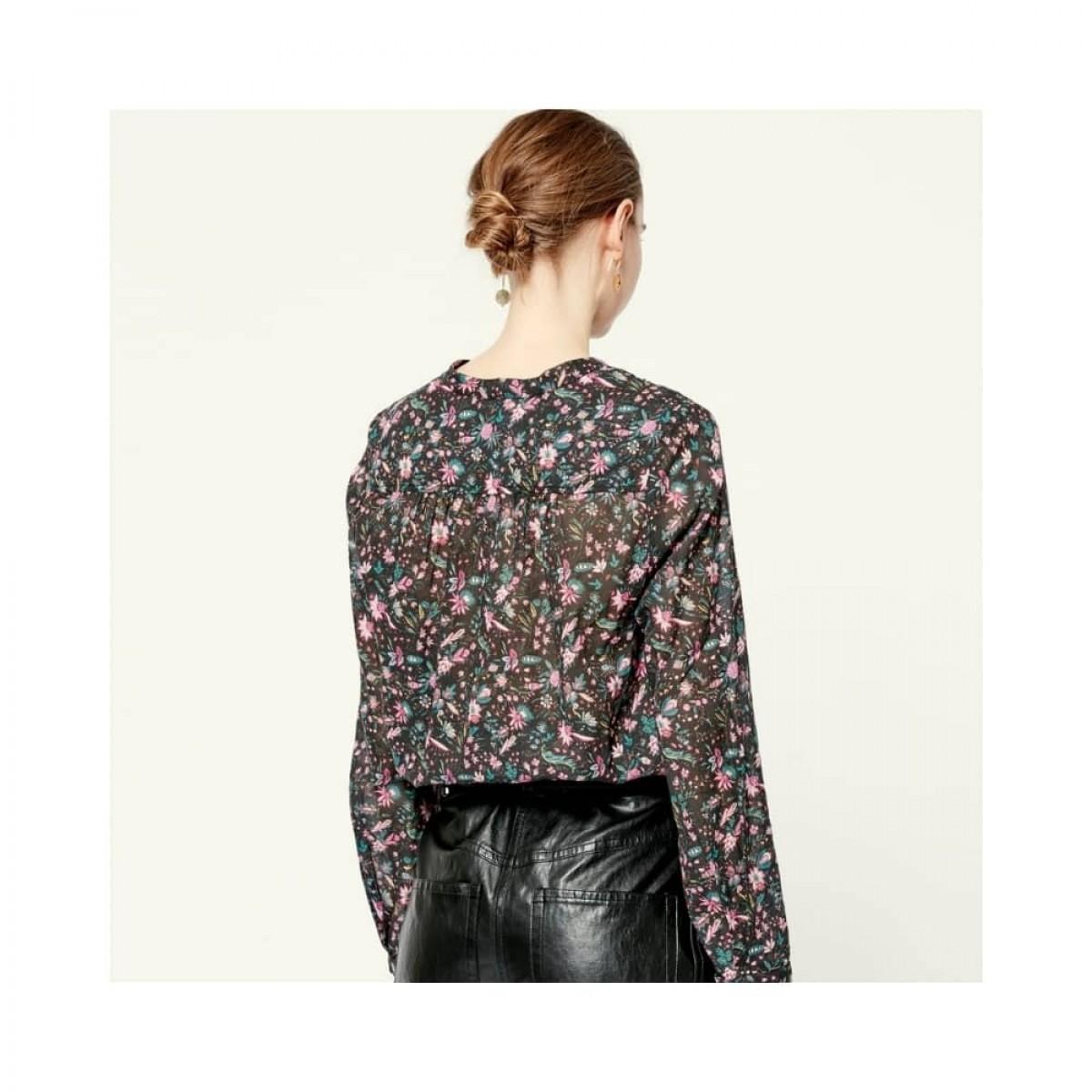 maria top - multicolor - model ryggen