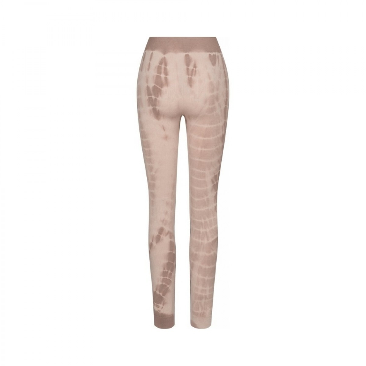 lena leggings - coublestone with taupe tie dye - bag