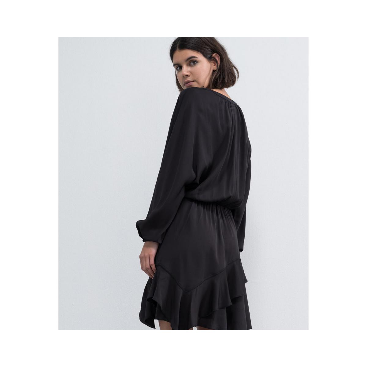 hiromi kjole - black - bagside billede