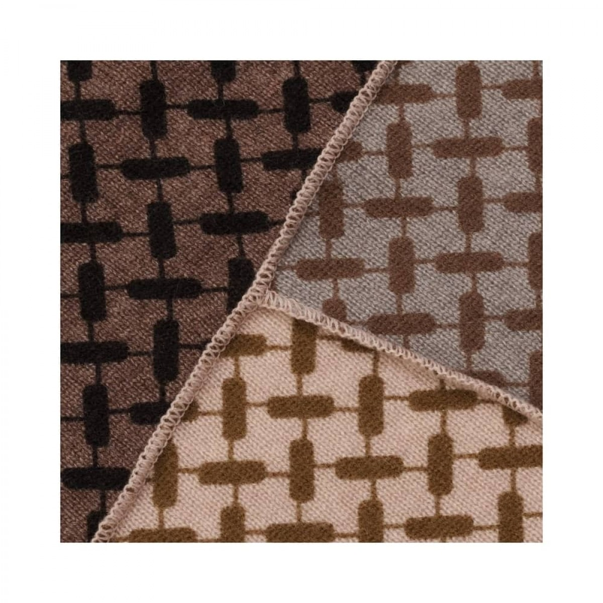 triangle trinity patchwork m - limestone - print