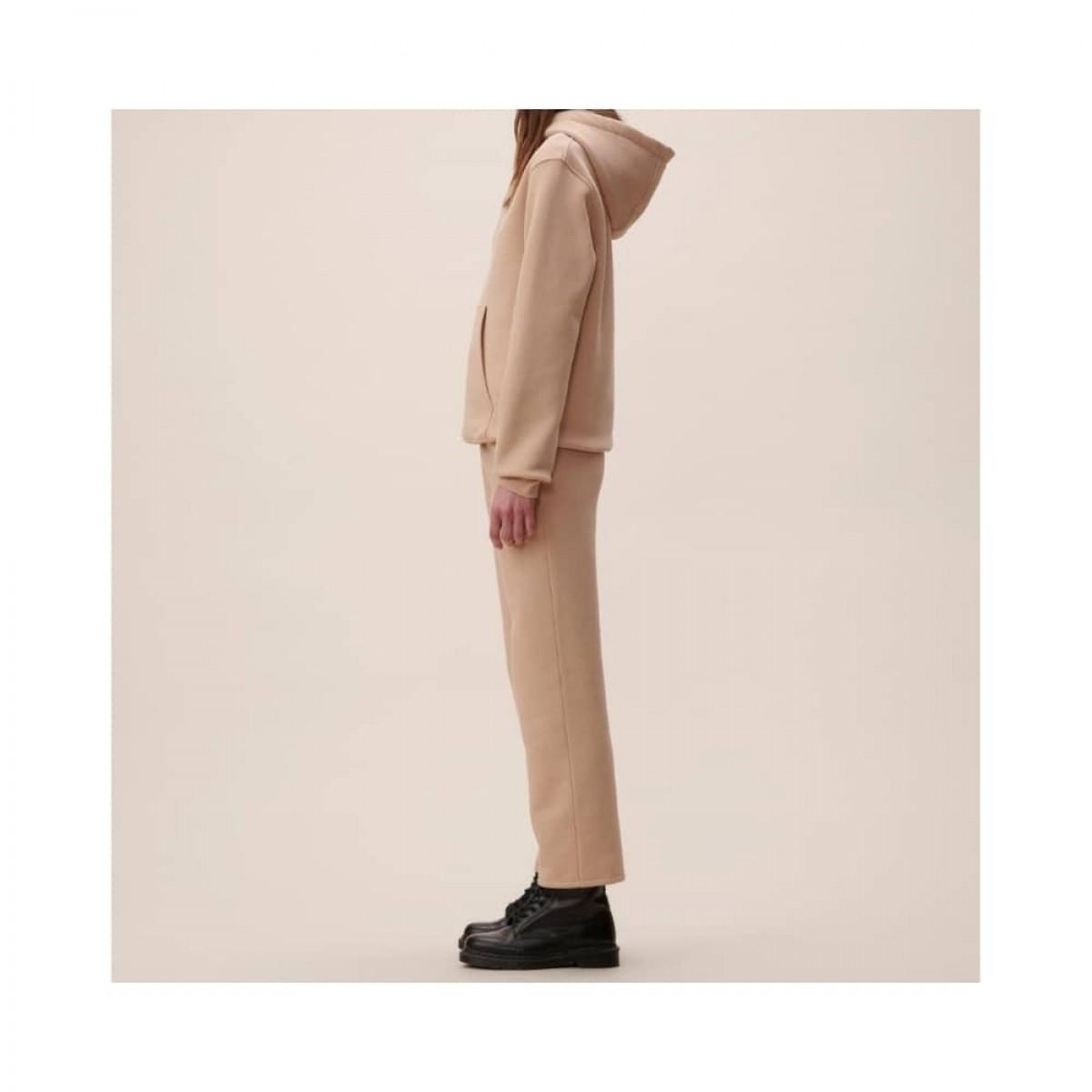 yetka sweat bukser - nomad camel - model fra siden