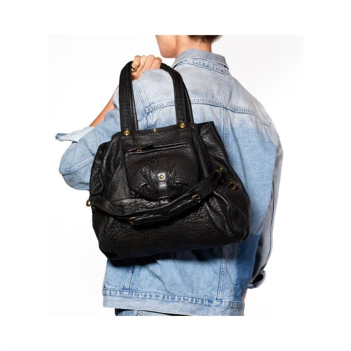 jerome dreyfuss billy m taske - black - på ryggen
