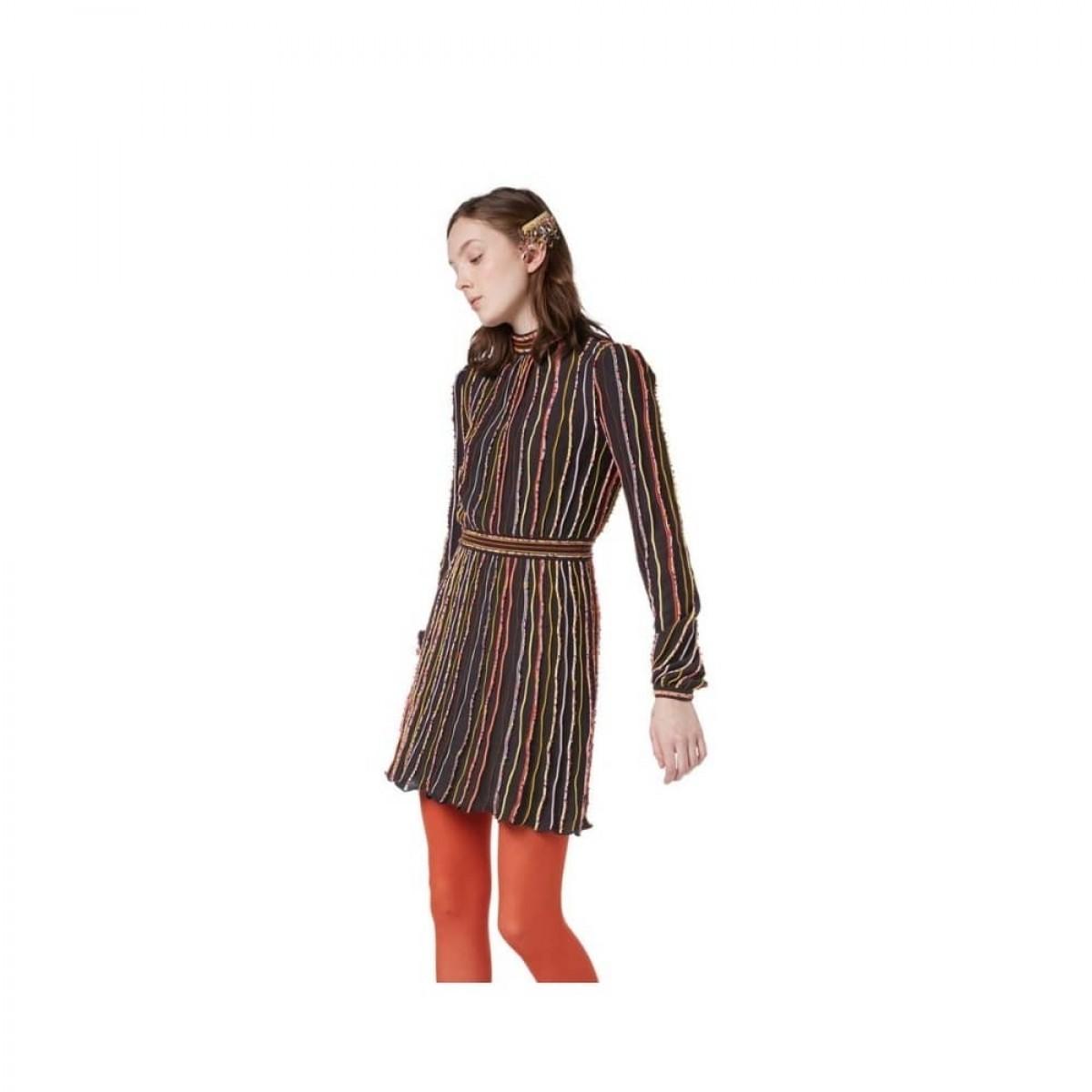 m missoni kjole - multi color - model front
