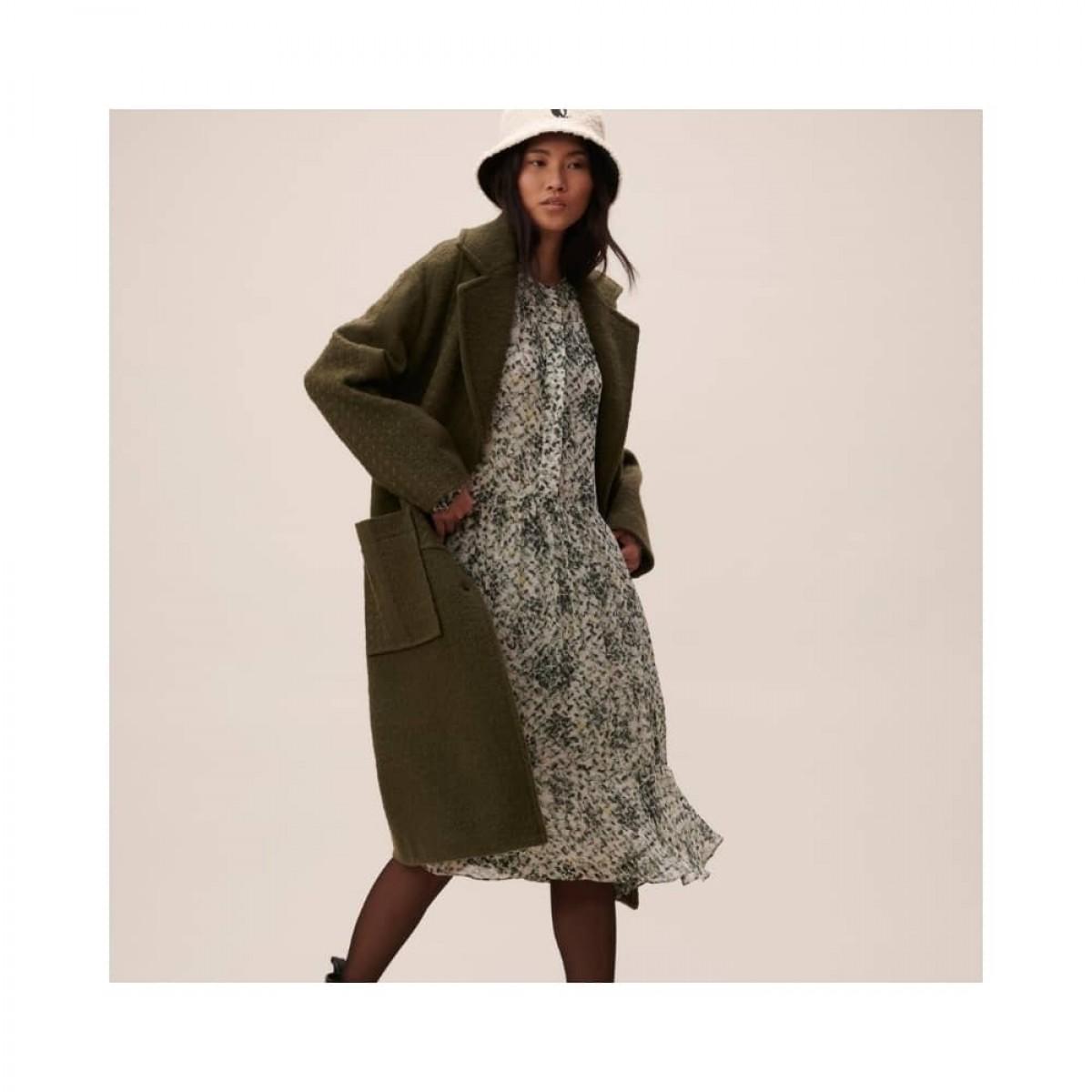 coat chayenne - olive - model frakke