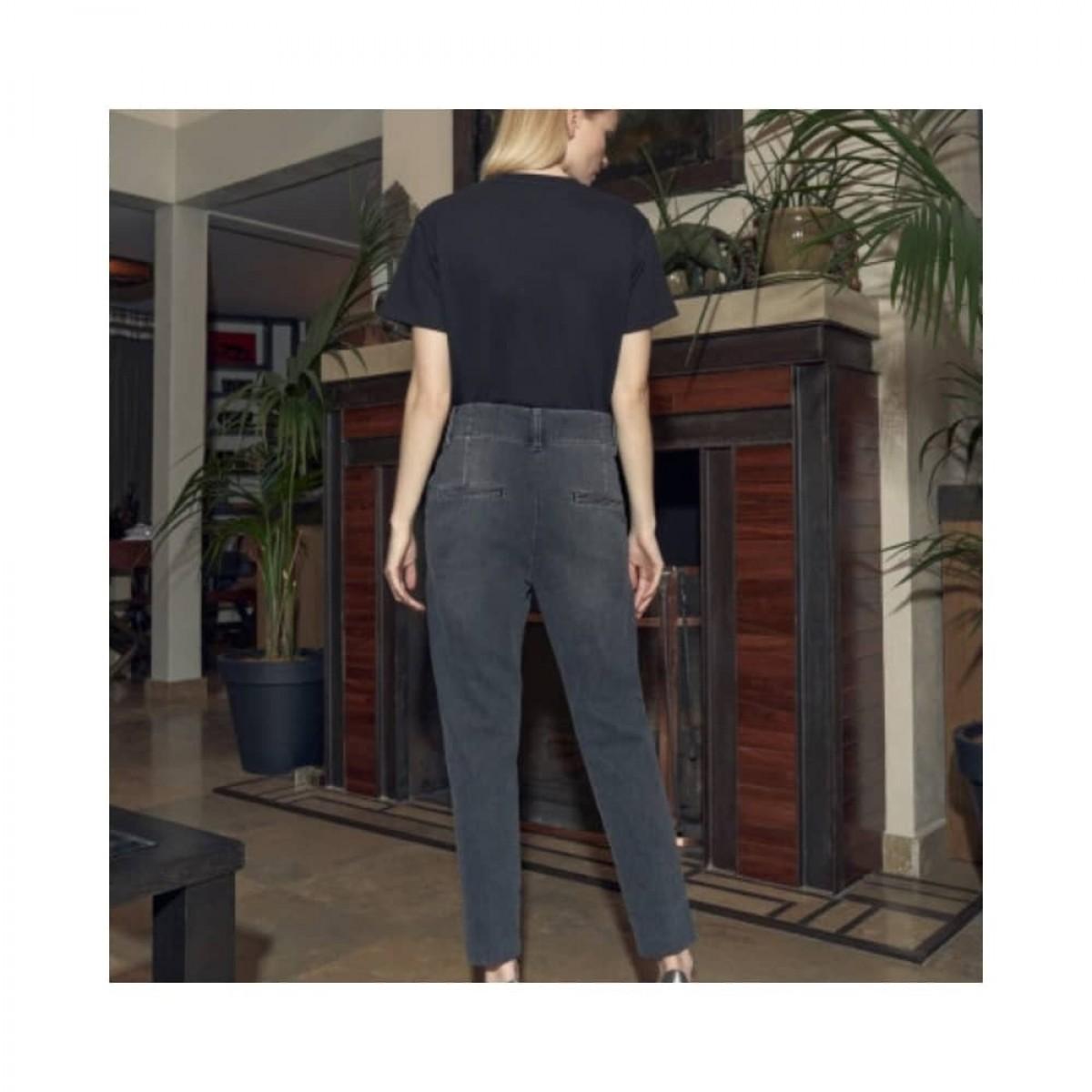 lenny jeans - grey - model bagfra