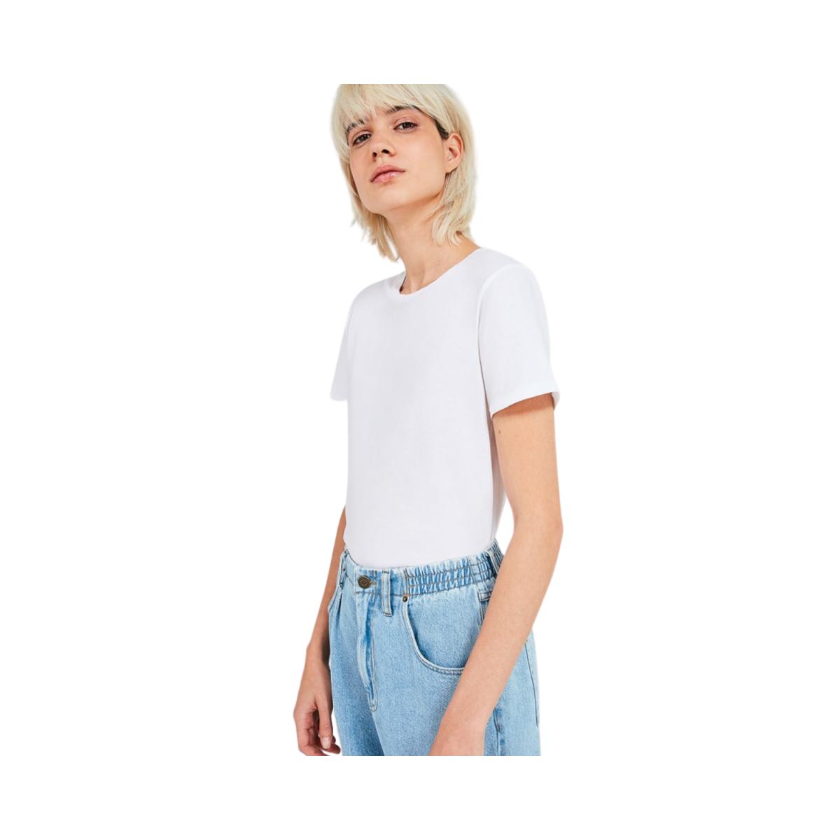 vegiflower t-shirt - blance - model billede front