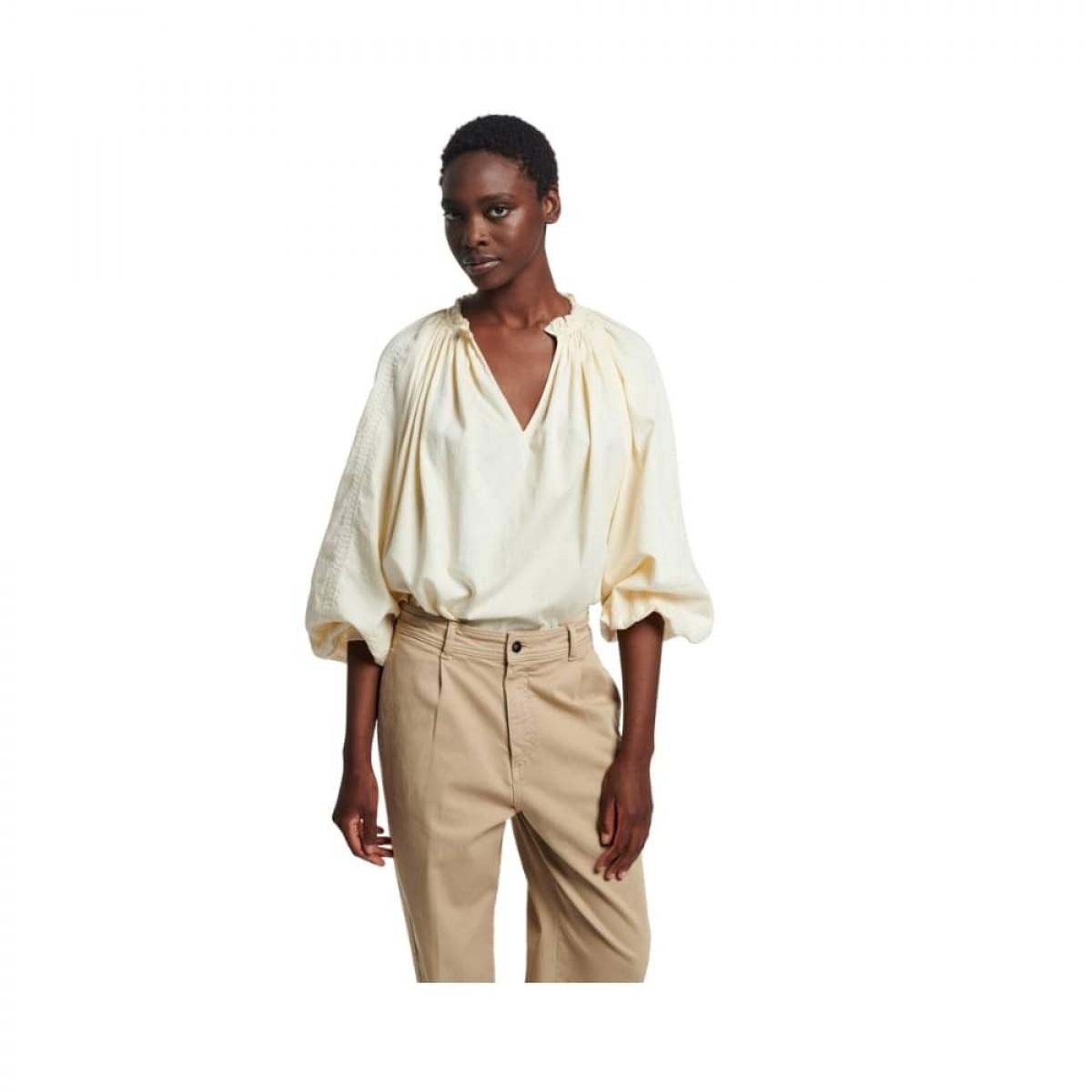 meyer bluse - ivoire