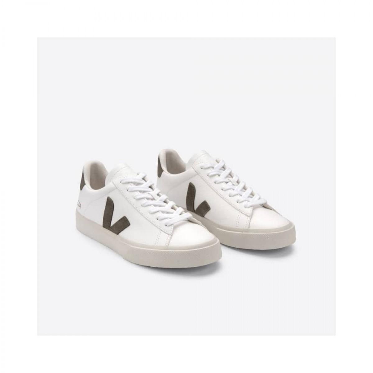 campo chromefree - extra white with kaki - oppe fra