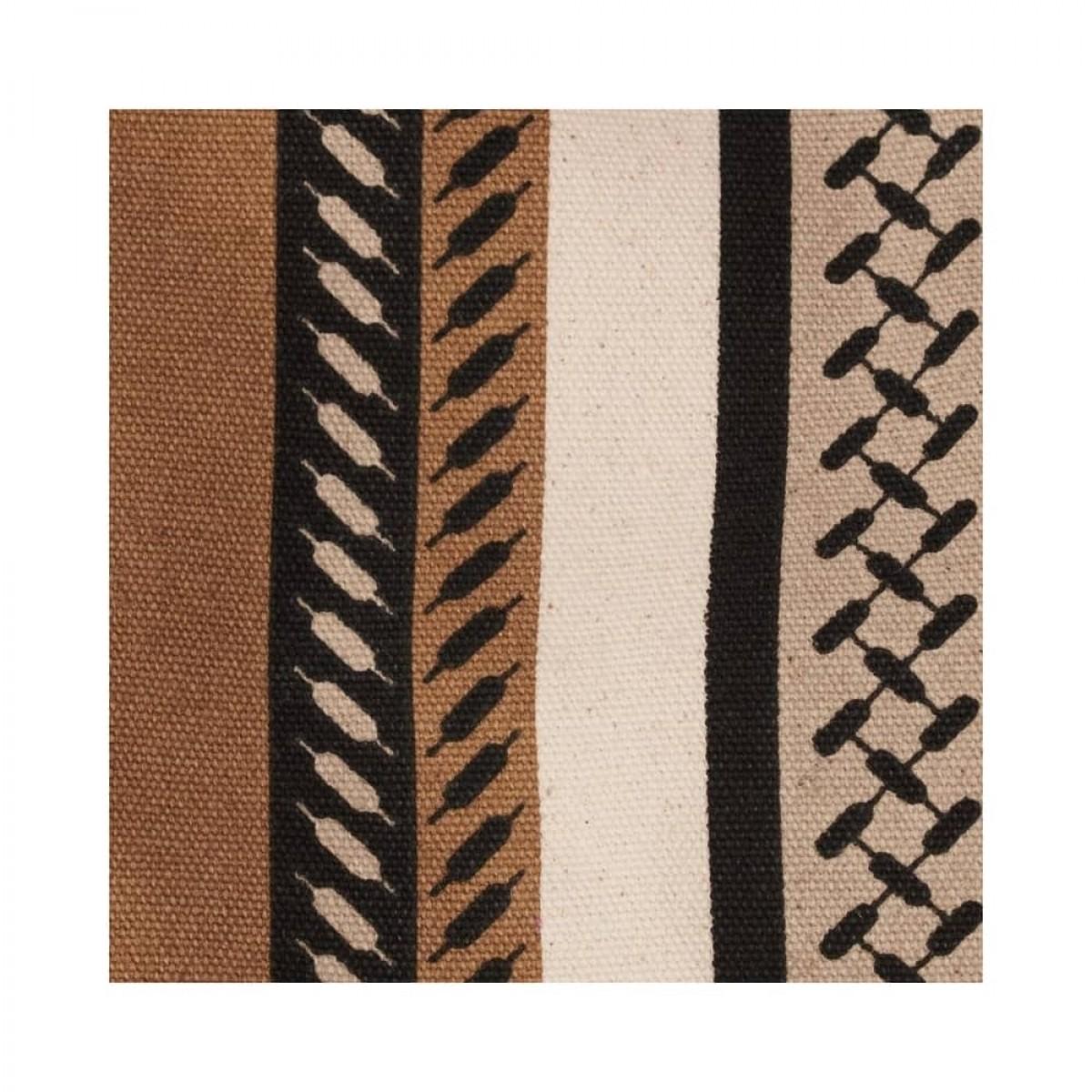 big tote josie bag - kufiya hessian dune - print