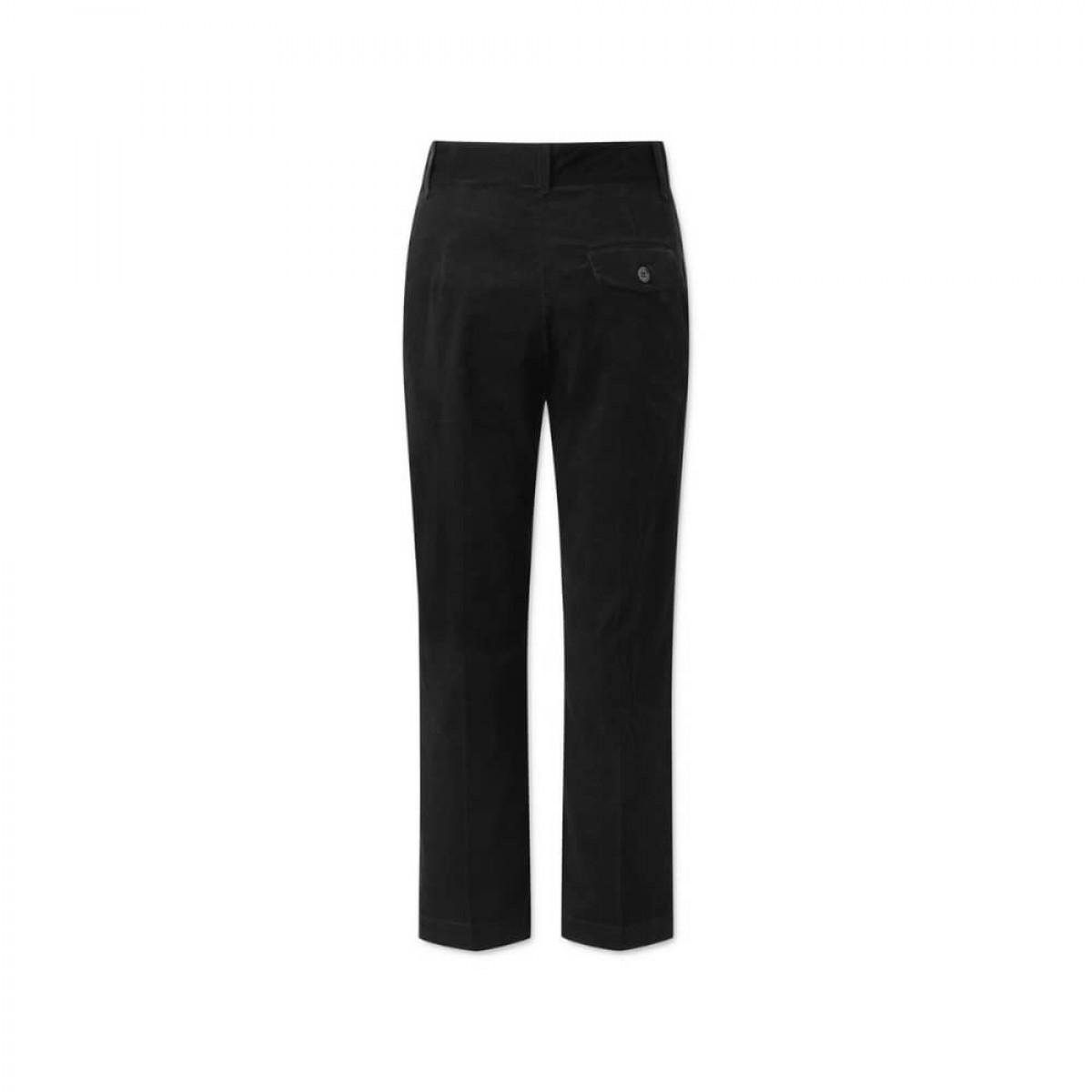 coppola pants - black fløjl