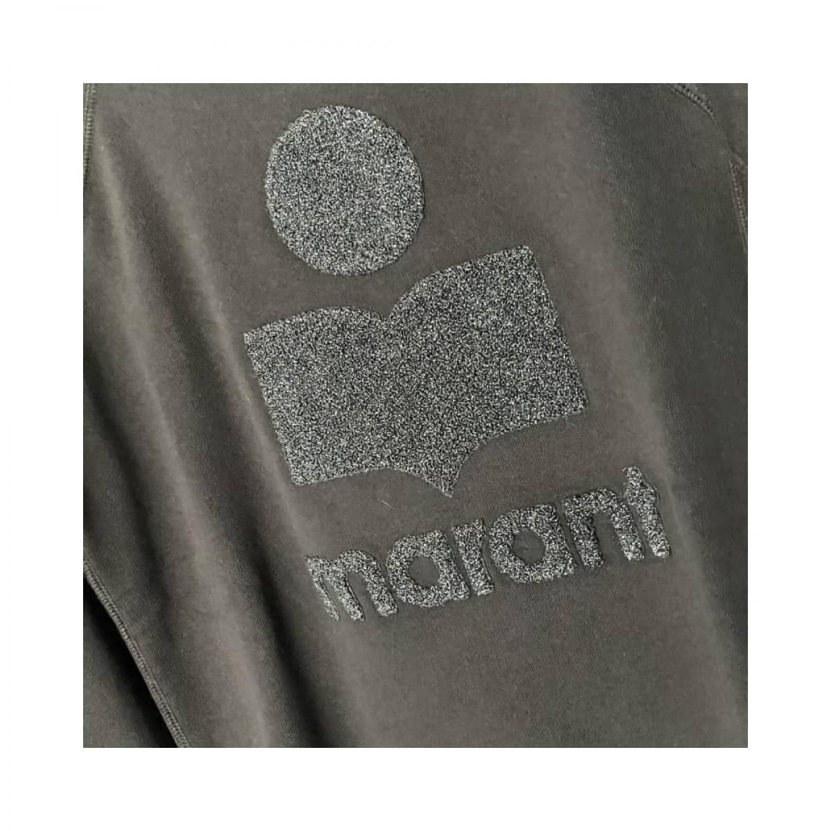 milly sweat - black - logo detalje