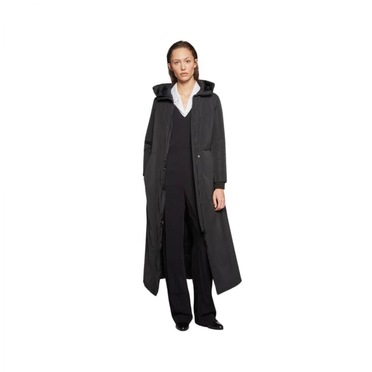 aspesi frakke - black