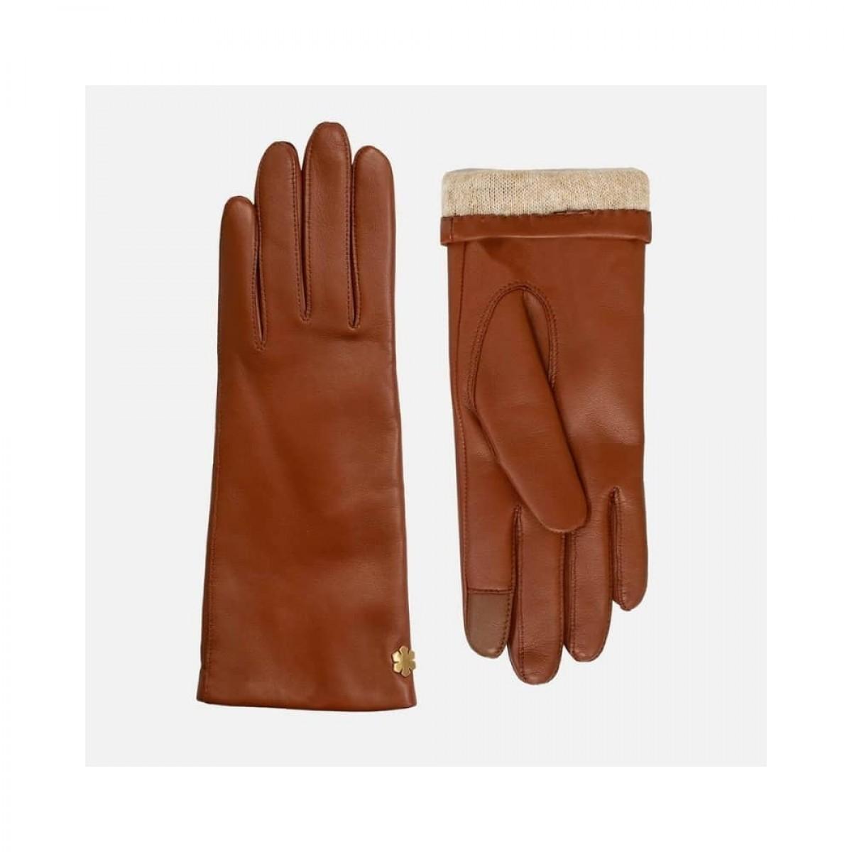anna handske - cognac