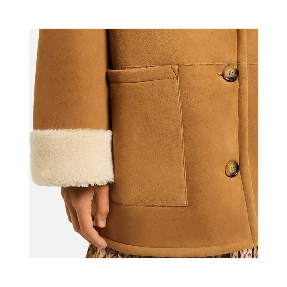 sambo jacket rulam - marron - model ærme detalje