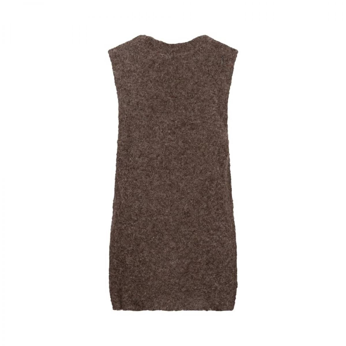 kia vest - soil brown - bag